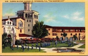 Florida St Petersburg Florida Military Academy 1947 Curteich