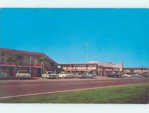 Bent Corner Pre-1980 MOTEL SCENE Panama City Florida FL B7391