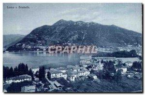 Old Postcard Italy italia Como e Brunate