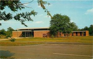 Tupelo Mississippi~Natchez Trace Parkway~Tupelo Visitor Center~1950s Postcard