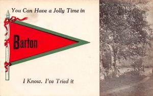 You Can Have a Jolly Time in Barton Vermont~I Know~Lakeside Path~1914 Pennant