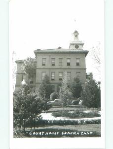 Pre-1950 rppc NICE VIEW Sonora - Near Lodi & Modesto & Stockton CA W0711
