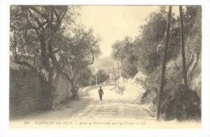 NICE, France, 00-10s , Route de Villefranche au Cap Ferrat