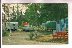 Tent, Juniper Camping, Trailer Park, Five Island Lake, Halifax, Nova Scotia,