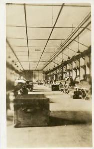 NY - West Point, Sleeping Halls, Ervin's Barracks Interior **RPPC**