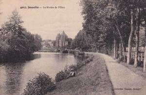 JOSSELIN, Morbihan, France, PU-1924; La Riviere de l'Oust