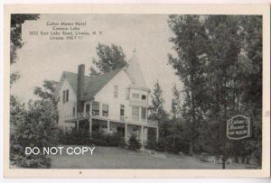 Culver Manor Hotel, Conesus Lake, Livonia NY