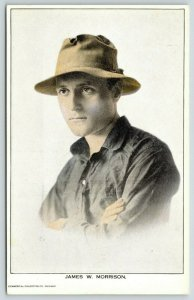 Mattoon, IL~Silent Film Actor-Author James W Morrison~Tale of Two Cities~c1915