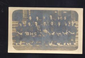 RPPC BISMARCK MISSOURI HIGH SCHOOL GIRLS BASKETBALL TEAM DESOTO MO OLD POSTCARD