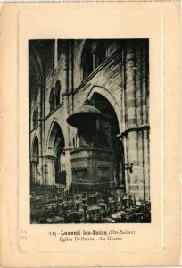 CPA Luxeuil-les-Bains - Eglise St-Pierre - La Chaire (636140)