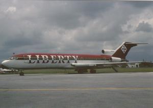 Liberty Air, Boeing 727-231, unused Postcard