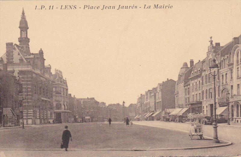 LENS , France , 00-10s ; Place Jean Laures - La Mairie