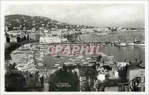 Old Postcard General view Cannes