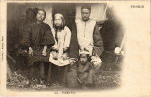 CPA AK VIETNAM Tonkin - Famille Tho (85199)