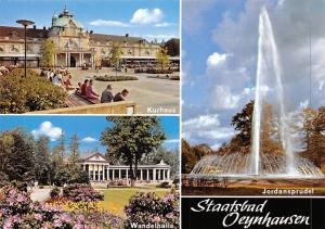 Staatsbad Oeynhausen, Wandelhalle Kurhaus Jordansprudel Promenade Brunnen