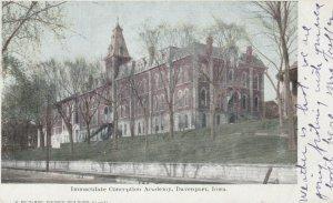 DAVENPORT , Iowa, PU-1908; Immaculate Conception Academy