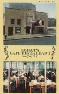 NEW YORK CITY, New York, 1960s ; Bonat's Cafe Restaurant