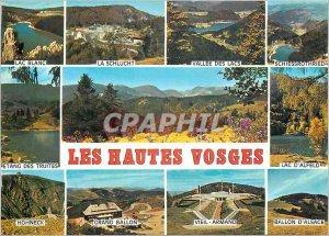 Modern Postcard The Vosges Lac Blanc La Schlucht Lakes Valley Schiessrothried