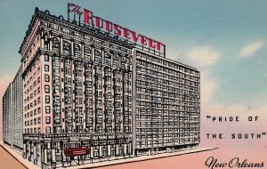 NEW ORLEANS , Louisiana , 1930-40s ; The Roosevelt Hotel