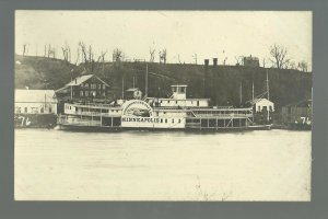 MINNESOTA Minneapolis 1870 STEAMBOAT MINNESOTA Mississippi River BROMLEY #76 '11