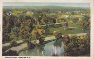 Kendrick Park , SHERIDAN , Wyoming , 1910s