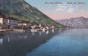 Cattaro , Croatia , 00-10s ; Waterfront