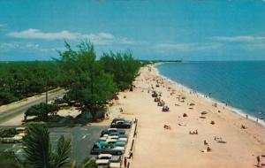Sun and Surf Bathing on the Golden Sands, Beach, Pompano Beach, Florida, Unit...