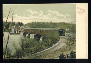 Haverhill, Massachusetts/MA/Mass Postcard, Rock's Bridge