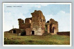Kendal Castle - Medieval Fortification, Cumbria, Northern England UK Postcard