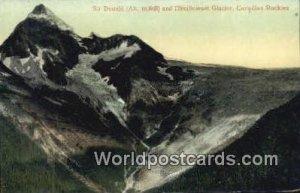 Sir Donald, Illecillewaet Glacier Canadian Rockies Canada Unused