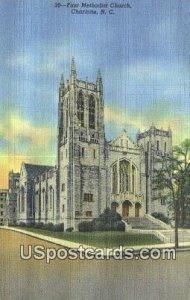 First Methodist Church in Charlotte, North Carolina