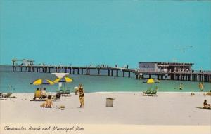 Florida Clearwater Beach And Municipal Pier