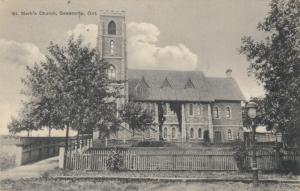 DESERONTO, Ontario , Canada , 1909 ; St Mark's church