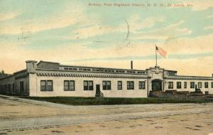 MO - St Louis. Armory, First Regiment Infantry