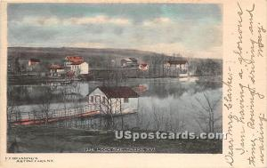 Birds Eye View Loch Sheldrake NY 1904