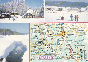 Czechoslovakia Stassko Multi View With Map