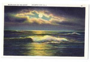 Moonlight Ocean Atlantic City NJ Tichnor Linen