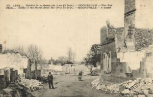 CPA Militaire - Mogneville - Une Rue (92036)