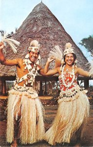 Tahitian Dancing, Council House Tahiti Unused