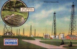 Oklahoma Oklahoma City Oil Field