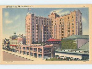 Unused Linen HOTEL SCENE Atlantic City New Jersey NJ B1176