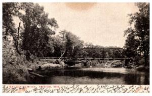 Wisconsin  Antigo , Eau Claire River