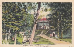 EDMONTON , Alberta , Canada , 1950s ; Queen Elizabeth Park