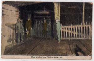 Coal Mining, Wilkes-Barre PA
