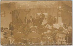 VINTAGE POSTCARD postal - ARGENTINA - CHILECITO: Real Photo ! INAUGURACION 1911