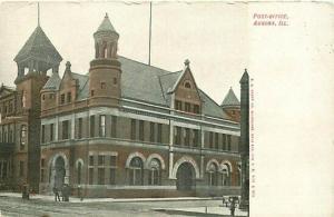 IL, Aurora,  Illinois, Post Office, E.C. Kropp