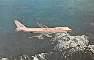 World Airways Boeing 747C jetliner Airplane Unused