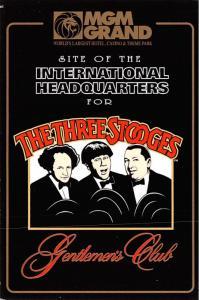 The Three Stooges, MGM Grand - Las Vegas, Nevada