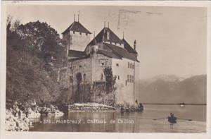 Switzerland Montreux Chateau de Chillon 1927 Photo