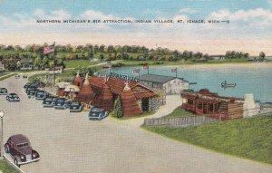 Michigan St Ignace Indian Village sk6463